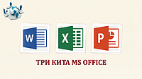 ТРИ КИТА MS OFFICE
