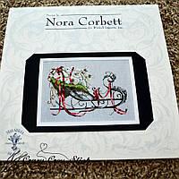 Схема Nora Corbett Santas Sleigh - Christmas Eve Couriers