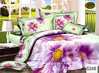Комплект постельного белья  ELWAY сатин 3D 248