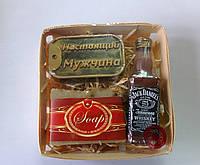 Мыльный набор Виски, жетон и натуральное мыло