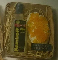 Мыльный набор Водка и бутерброд с красной икрой