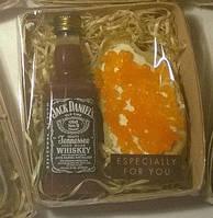 Мыльный набор Виски и бутерброд с красной икрой