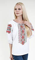 Вышиванка женская белая