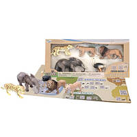 Детский игровой набор с QR-картой фигурки Животных Африки S1 Wenno WAF1701