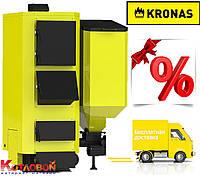 Твердотопливные котлы с автоматической подачей Кронас Комби (Kronas Kombi)