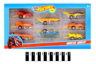Набор машинок Hot Wheel, 8 машин в комплекте, хот вилс 2367-8A