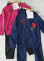 Детский спортивный костюм для девочки на 10 , 11 ,  12 , 13 лет
