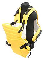 Рюкзак кенгуру желтый (№12)