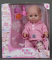 Кукла пупс функциональная с аксессуарами Baby Toby (30719-11)