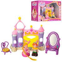 Замок 2015 принцессы, фигурки 2 шт, трюмо, трон