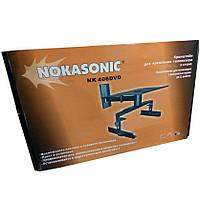 "Кронштейн Nokasonic NK-406 DVD диагональ до 21"""