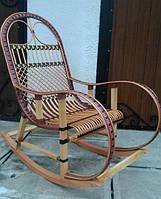 Плетеная кресло-качалка, фото 1