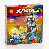 Конструктор Bela Ninja Осада маяка 815 дет. (10528)