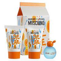 Moschino I Love Love Set(4,9 Edt+25 S/G+25 B/L)