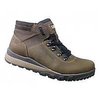 Ботинки зимние мужские №30, коричневые
