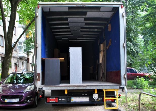 Перевозка (торгового) оборудования в Чернигове