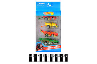 Набор машинок Hot Wheel, 4 машинки в комплекте, хот вилс 2367-4А