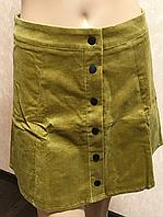 Микровельветовая женская юбка Glamorous 38р