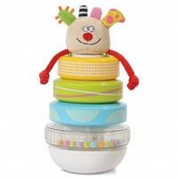 Развивающая игрушка - ПИРАМИДКА КУКИ от Taf Toys - под заказ - ОПТ