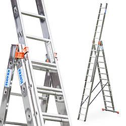 Лестница алюминий 3х12 KRAUSE CORDA 860 см