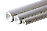 Полипропиленовая труба армированная алюминием PP-ALUX PN 25, 63 мм, белый, Valtec VTp.700.AL25.63