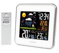 Современная домашняя метеостанция La Crosse WS6821A-WHI 922307