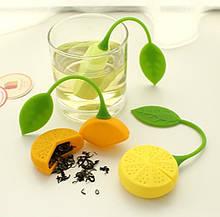 Силиконовое ситечко для чая форма Лимон