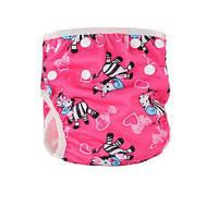 Детские подгузники для бассейна для девочки Зебры