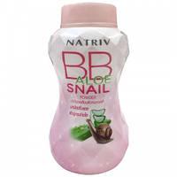 Тальк ВВ Natriv bb aloe snail