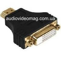 Переходник гнездо DVI  -  штекер HDMI