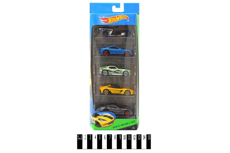 Набор машинок Hot Wheel, 5 машин в комплекте, хот вилс Е757-5