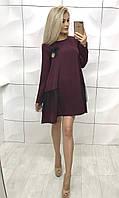 Платье 373 Бренди Слива