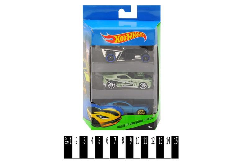 Набор машинок Hot Wheel, 3 авто в комплекте, хот вилс Е757-3