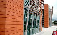 Вентилируемый фасад  терракота