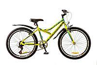 "Велосипед 24"" DISCOVERY FLINT 2017 (зелено-серо-голубой)"