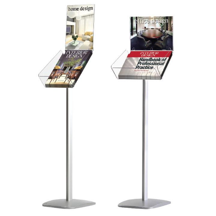 Cтенд Decorative brochure stand plus