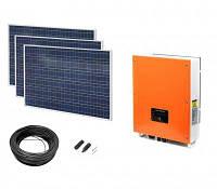 Гибридная солнечная электростанция EnerGenie EA5000; мощность 5000Вт
