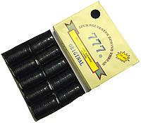 Нитки швейные 777 №40/2 (10 катушек) черные, полиэстер