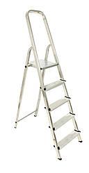 Лестница алюминий 4 ступени HOHER 290 см