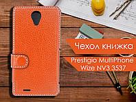 Чехол книжка для Prestigio MultiPhone Wize NV3 3537
