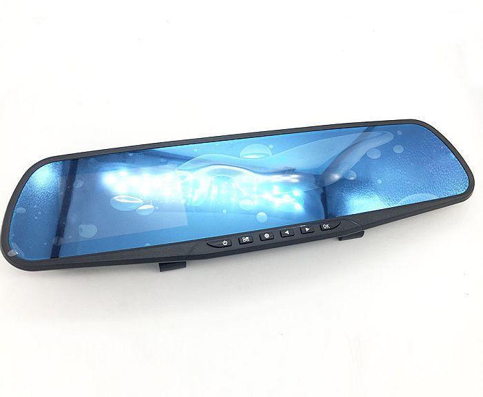 Автомобильный видеорегистратор Dvr 138e зеркало