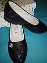 Детские школьные туфли бренда ВВТ для девочки Размеры 31- 34, фото 2