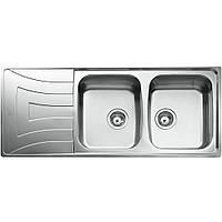 Кухонная мойка ТЕКА UNIVERSO 2C 1E MTX