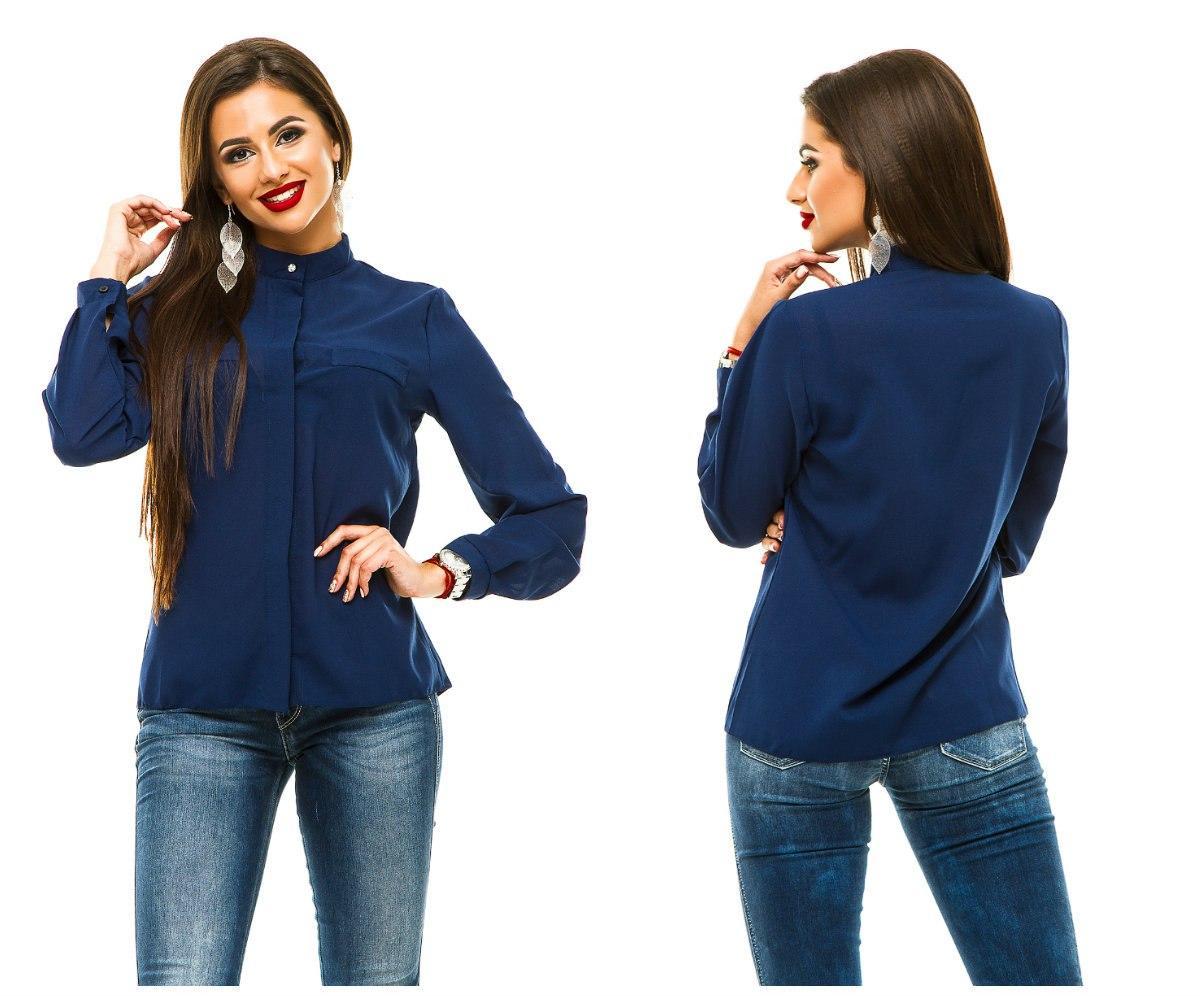 Блуза женская длинный рукав.