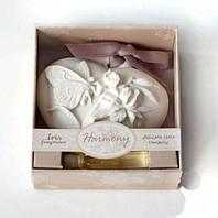 Аромакамень камень ароматизатор Ирис с бабочкой