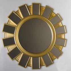 Зеркало оригинальное дизайнерское интерьерное Dominica / зеркало для дома настенное