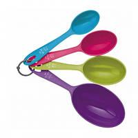 Набор мерных ложек-чашек Kitchen Craft Colourworks 4 шт