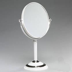 Косметическое зеркало настольное на подставке Carmen / зеркало для макияжа