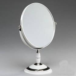 Косметическое зеркало настольное на подставке Morena / зеркало для макияжа