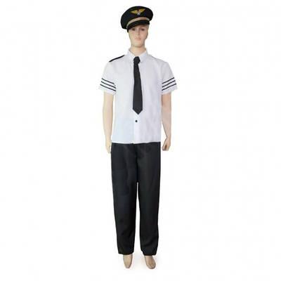 Карнавальный костюм Пилот взрослый для мужчин